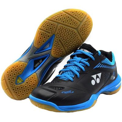 Yonex Mens Power Cushion 65 Z2 Badminton Shoes - Black/Blue