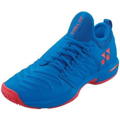 Yonex Mens Power Cushion Fusionrev 3 Tennis Shoes - Sea Blue