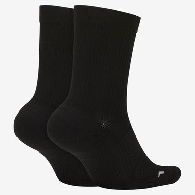 Nike Multiplier Cushioned Socks (2 Pairs) - Black