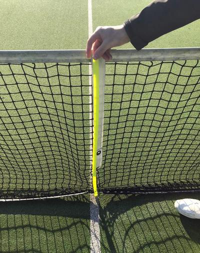 Tennisnuts Foldable Tennis Net Ruler