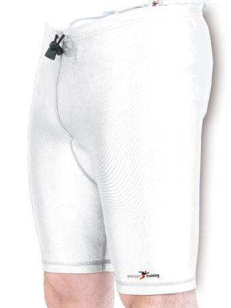 Precision Training Lycra Shorts - White