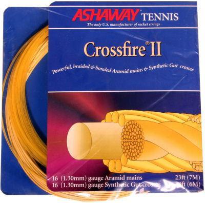 Ashaway Crossfire II Hybrid Tennis String Set
