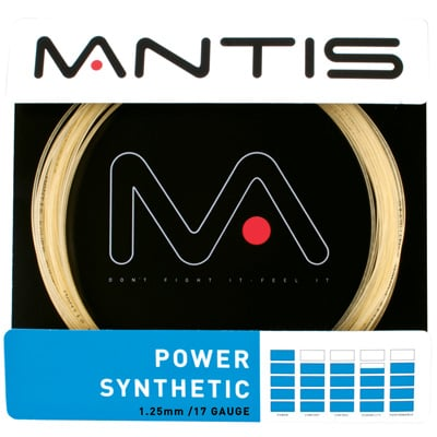 Mantis Power Synthetic Tennis String Set - Amber