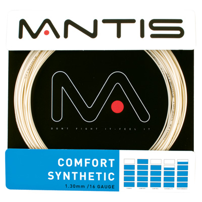 Mantis Comfort Synthetic Tennis String Set - Natural