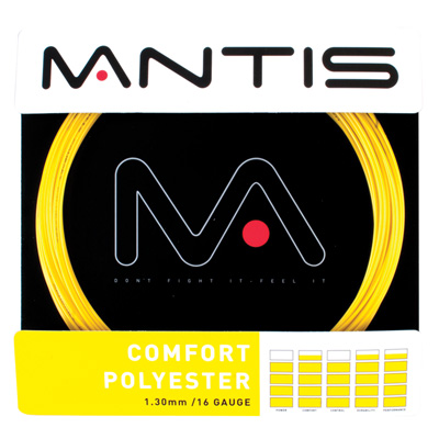 Mantis Comfort Polyester Tennis String - Set