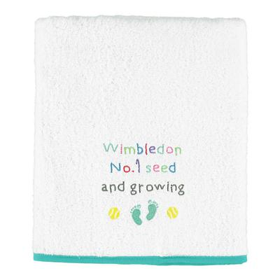 Christy Wimbledon Kids Bath Towel - White