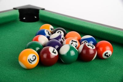 Powerplay 25 Inch Mini Pool Table Game