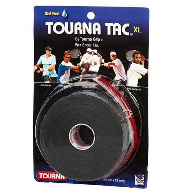 Tourna Tac Overgrips (Pack of 10) - Black
