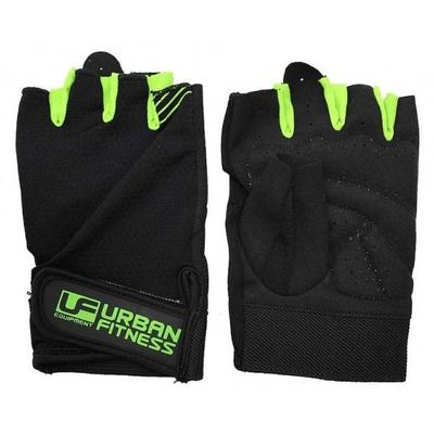 Urban Fitness Training Gloves - Black/Green