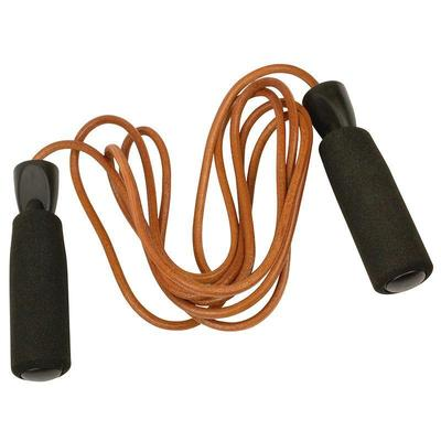 Urban Fitness Leather Jump Rope 2.7m