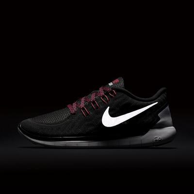 best loved 7da63 48474 Nike Womens Free 5.0 Running Shoes - BlackPink