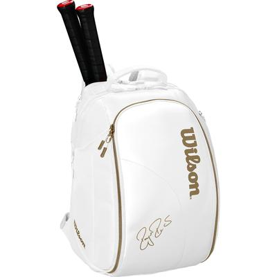Wilson Federer DNA Limited Edition Backpack - White/Gold