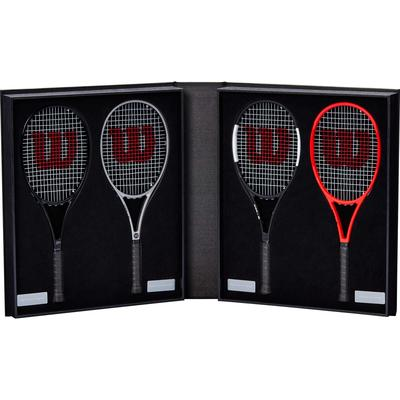 Wilson Roger Federer Limited Edition Mini Racket Collection