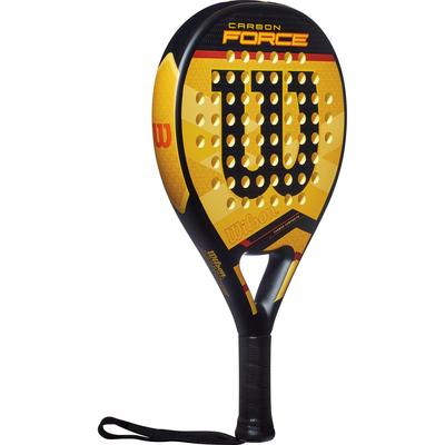 Wilson Carbon Force Padel Racket - Yellow/Black