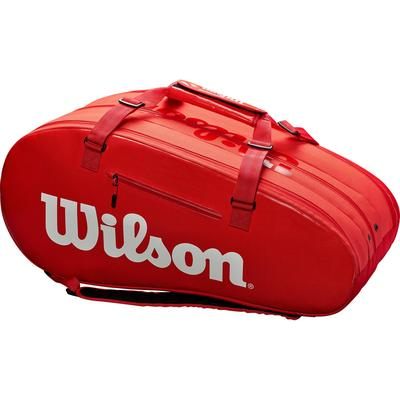 Wilson Super Tour 15 Racket Bag - Red