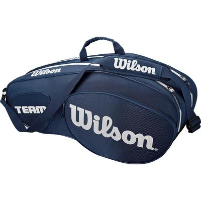 Wilson Team III 6 Pack Bag - Blue/White