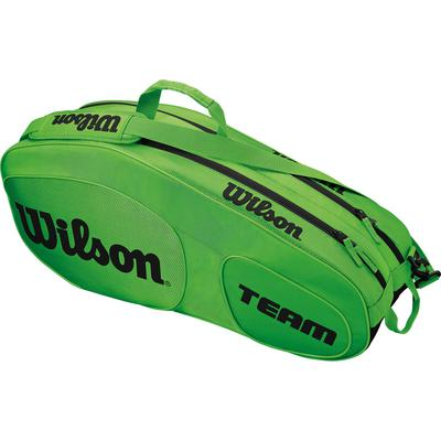 Wilson Team III 6 Pack Bag - Green/Black