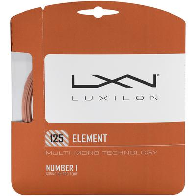 Luxilon Element Tennis String Set - Bronze