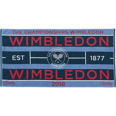 Christy Wimbledon Championships Womens Towel 2018 - Blue