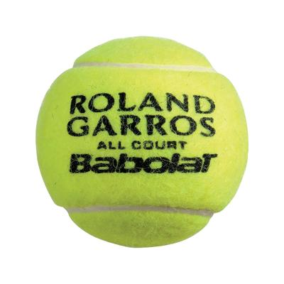 Babolat French Open All Court Tennis Balls (4 Ball Can) Quantity Deals