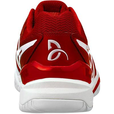 Asics Mens GEL-Resolution Novak Tennis Shoes - Classic Red/White