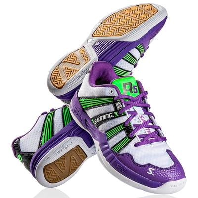 Salming Womens Race R5 2.0 Indoor Court Shoes - Purple