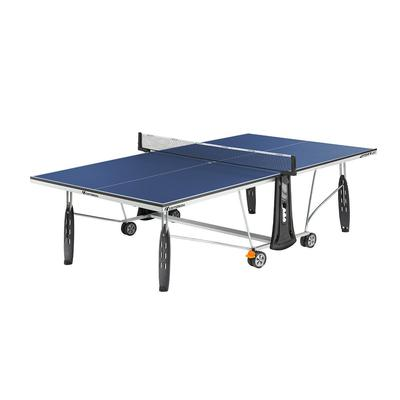 Cornilleau Sport 250 19mm Rollaway Indoor Table Tennis Table - Blue