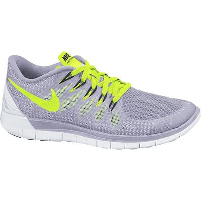 6777be02fc6d1 Nike Womens Free 5.0+ Running Shoes - Titanium Volt - Tennisnuts.com