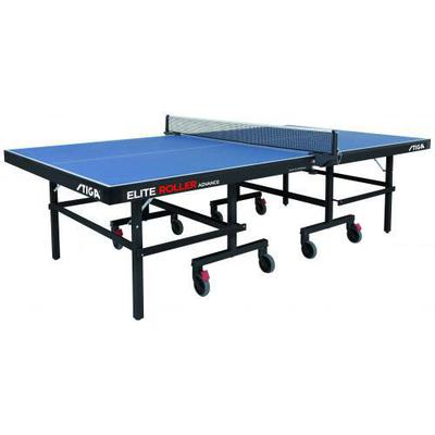Stiga Elite Roller CCS Advance 22mm Indoor Table Tennis Table - Blue