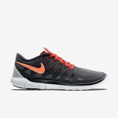 397af3dfb402 Nike Mens Free 5.0+ Running Shoes - Black Bright Crimson ...