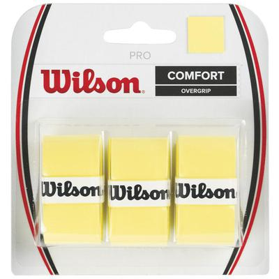 Wilson Pro Overgrips (Pack of 3) - Yellow