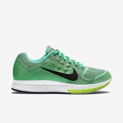 2750d6f4465e Nike Womens Air Zoom Structure 18 Running Shoes - Menta Green ...
