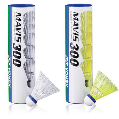 Yonex Mavis 300 Shuttles (2 Speeds) (White/Yellow)
