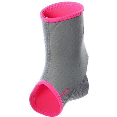 Nike Pro Combat Hyperstrong Ankle Sleeve - Grey/Pink