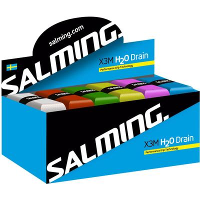 Salming H2O Drain Replacement Grip Box (24 Grips) - Assorted
