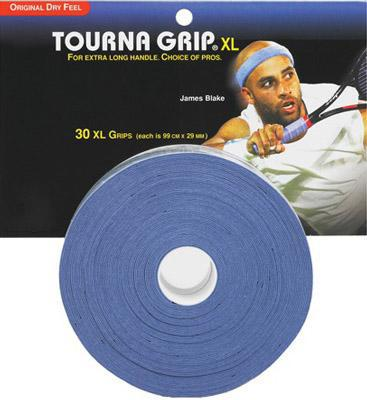 Tourna Grip XL Overgrips (Pack of 30) - Blue
