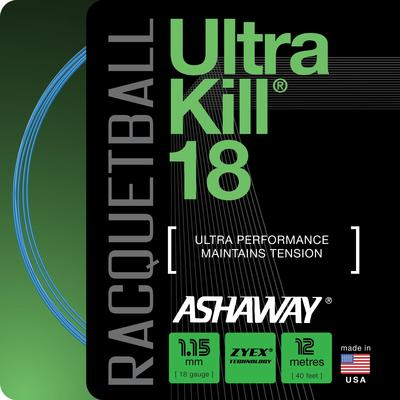 Ashaway Ultrakill 18 Racketball String Set - Blue