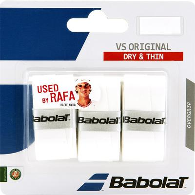 Babolat VS Original Overgrips (3 Pack) - White