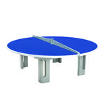 Butterfly R2000 Circular Concrete 25mm Outdoor Table Tennis Table - Blue