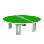 Butterfly R2000 Circular Concrete 25mm Outdoor Table Tennis Table - Green