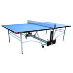 Butterfly Spirit 12mm Rollaway Outdoor Table Tennis Table - Blue