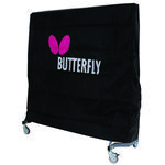 Butterfly Table Tennis Table Cover (Small) - Black