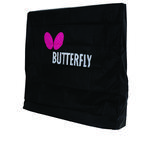 Butterfly Table Tennis Table Cover (Compact) - Black