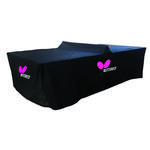 Butterfly Outdoor Table Tennis Table Cover (Concrete/Playground/Ultimate) - Black