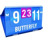 Butterfly League Table Tennis Scoreboard