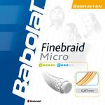 Babolat Finebraid Micro 0.67 Badminton String Set - Orange