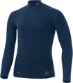 Nike Pro Core Long-Sleeve Mock Tight - Navy/Grey