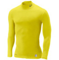 Nike Pro Core Long-Sleeve Mock Tight - Electrolime/Anthracite
