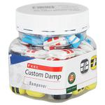 Babolat Custom Damp Square Vibration Dampeners (Pack of 48)