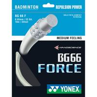 Yonex BG66 Force Badminton String Set - White
